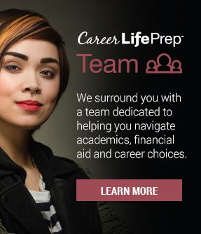 Team - We surround you with a team dedicated to helping you navigate academics, financial aid and career choices