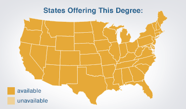 How should one network an Associates degree to employers?