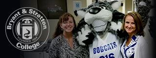 Staff and Bob the Bobcat