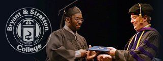 Student receiving their diploma