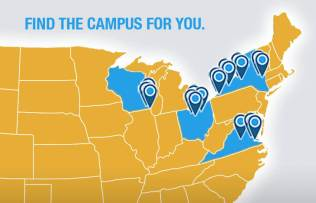 Find the campus for you