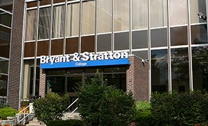 front of the bryant & stratton campus location